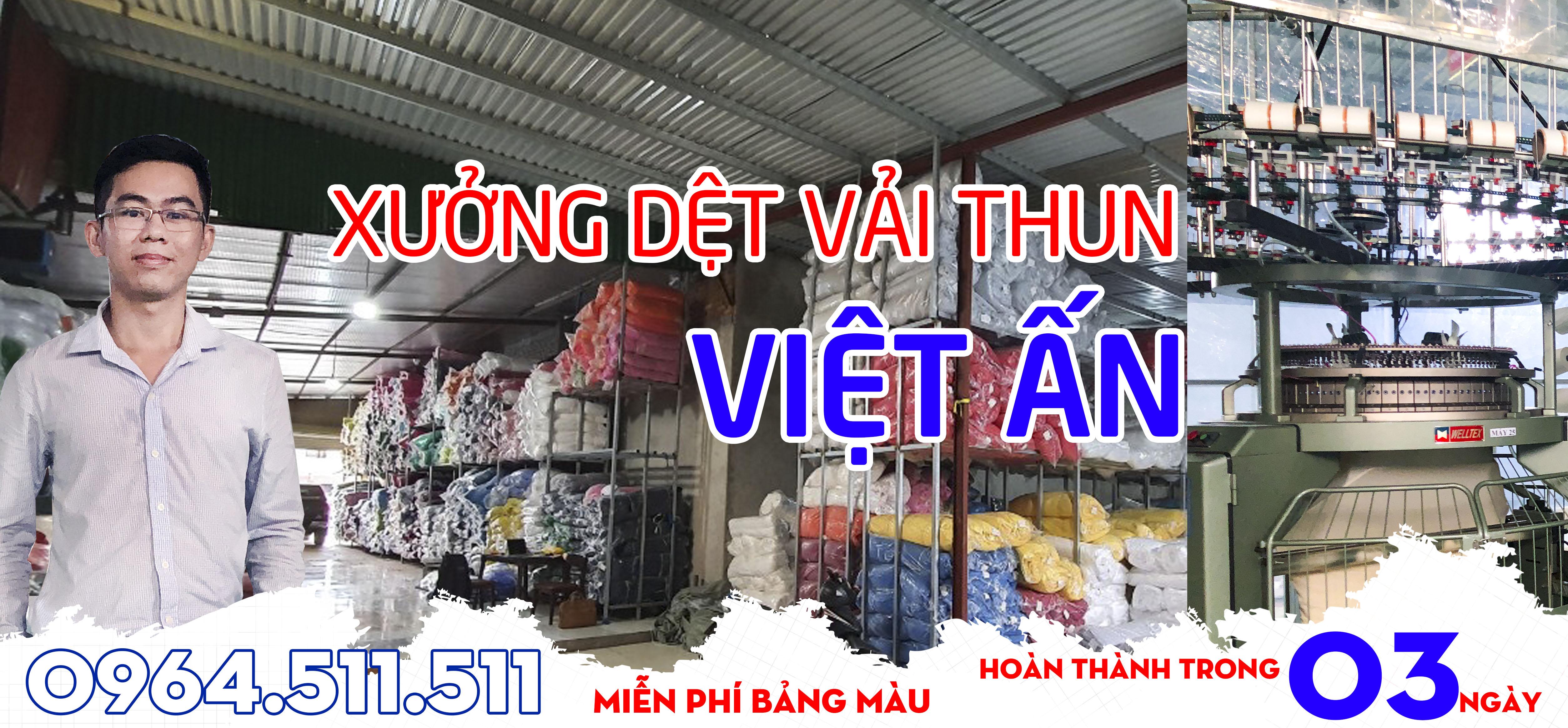 xưởng dệt vải thun việt ấn