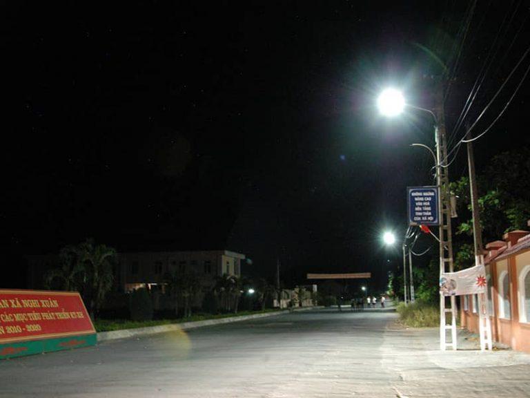 Giải pháp chiếu sáng nông thôn mới