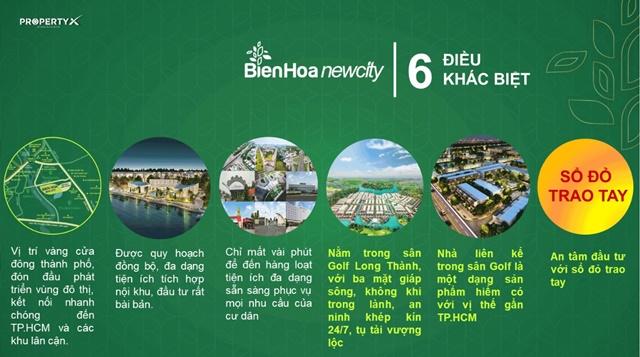 Chuyển nhượng Biên Hòa new city - 6 điều khác biệt