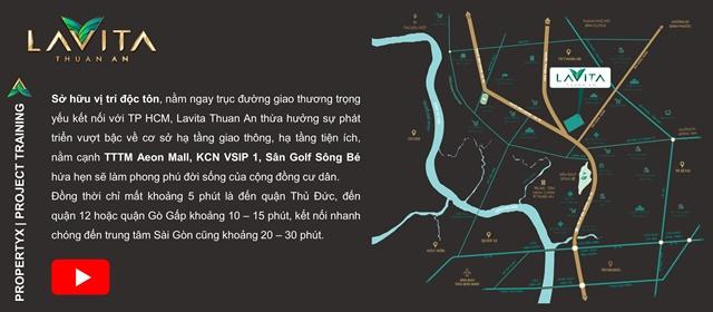 vị trí dự án - Căn Hộ Lavita Thuận An