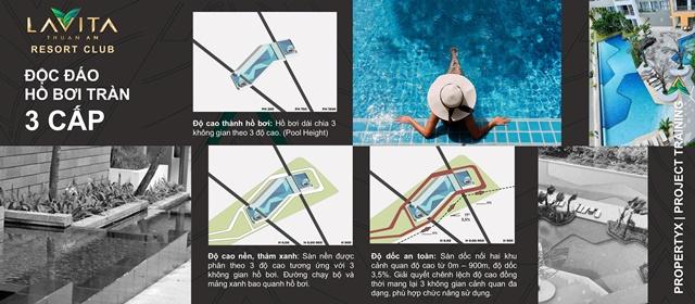 hồ bơi 3 cấp