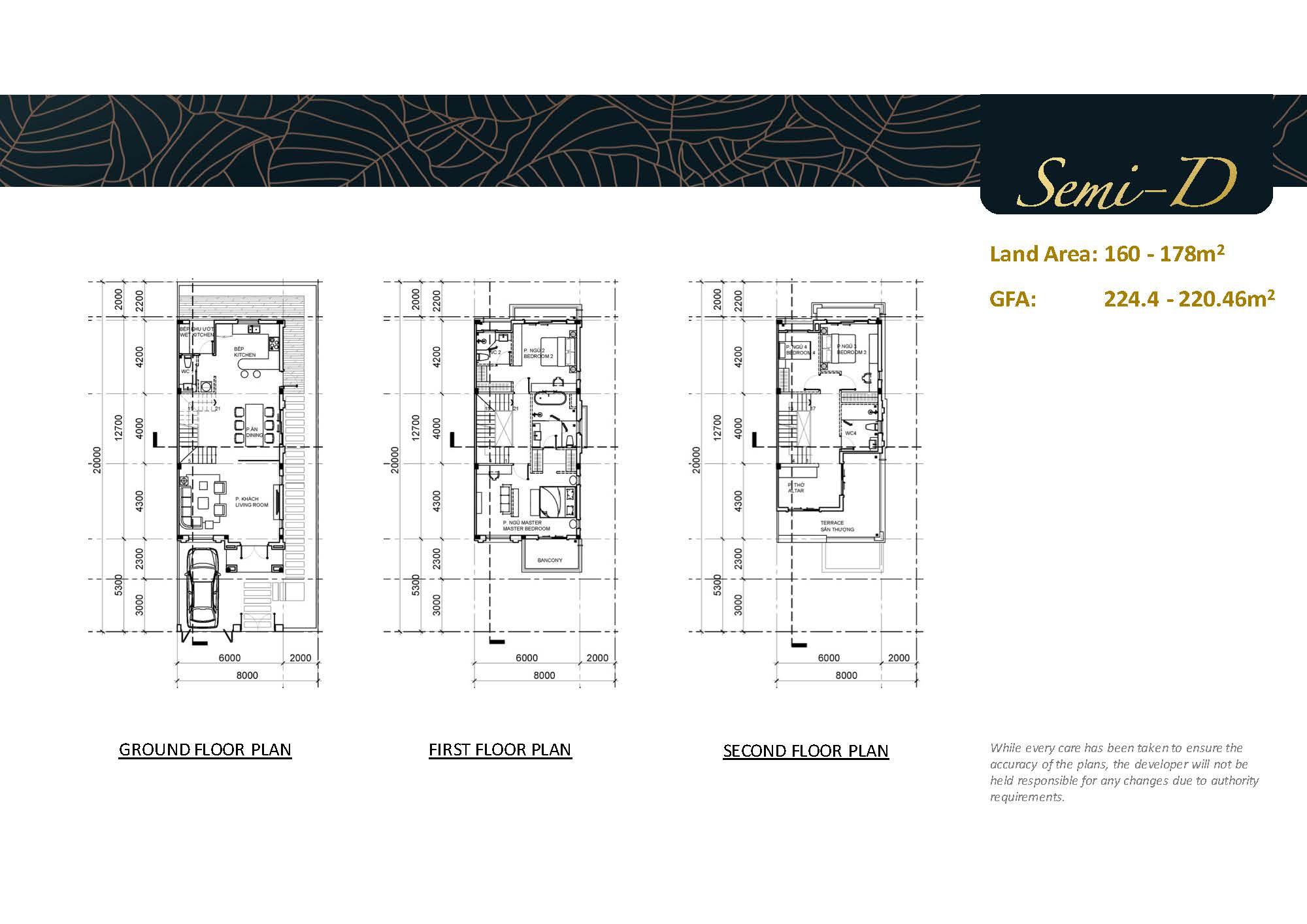mặt bằng thiết kế nội thất biệt thự Swanbay - mặt bằng
