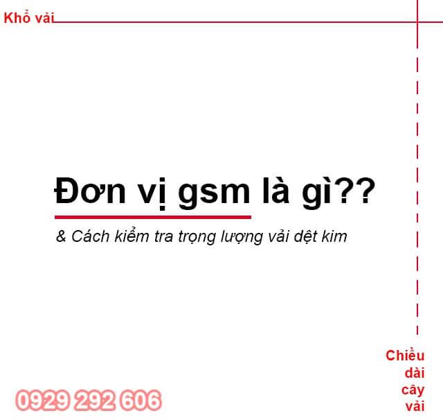 gsm là gì