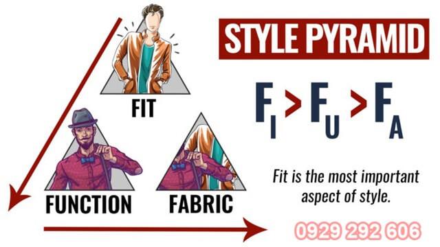 Cách chọn áo phông theo nguyên tắc 3F
