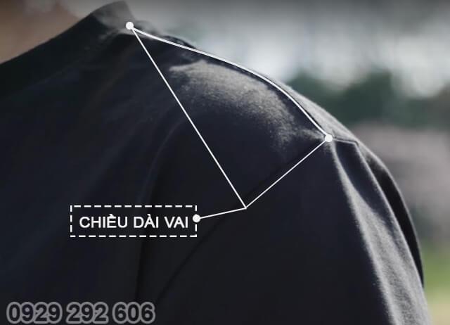 Chọn áo phông - Phần vai áo