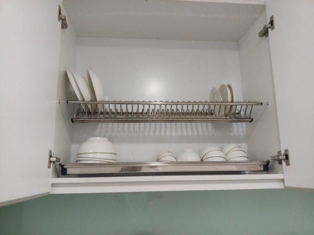 giá bát đĩa trong tủ bếp INOXEN
