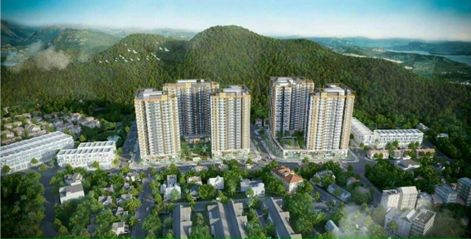 Phói cảnh tổng thể dự án căn hộ Richmond Quy Nhơn
