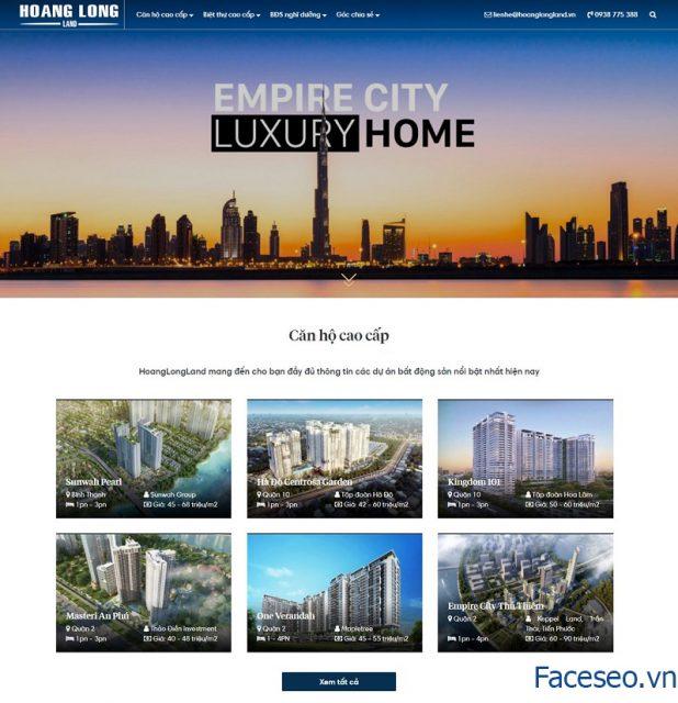 Mẫu thiết kế website bđs đẹp chuẩn seo 10