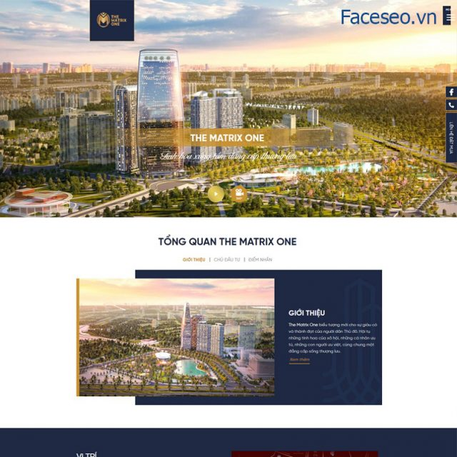Mẫu thiết kế website bđs 3