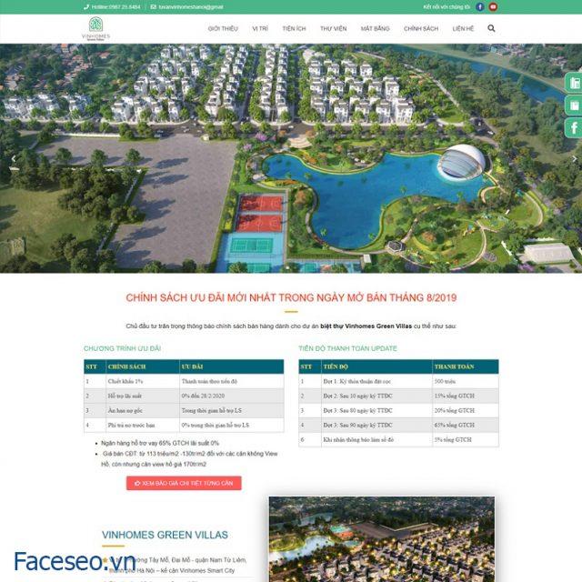 Mẫu thiết kế website bđs 6