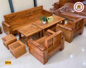 kê bàn ghế gỗ phòng khách