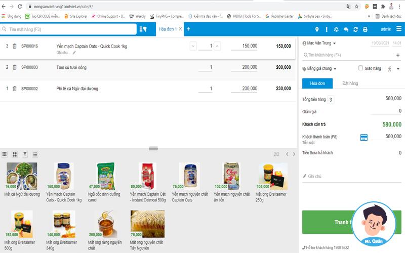 Phần mềm quản lý bán hàng tạp hóa