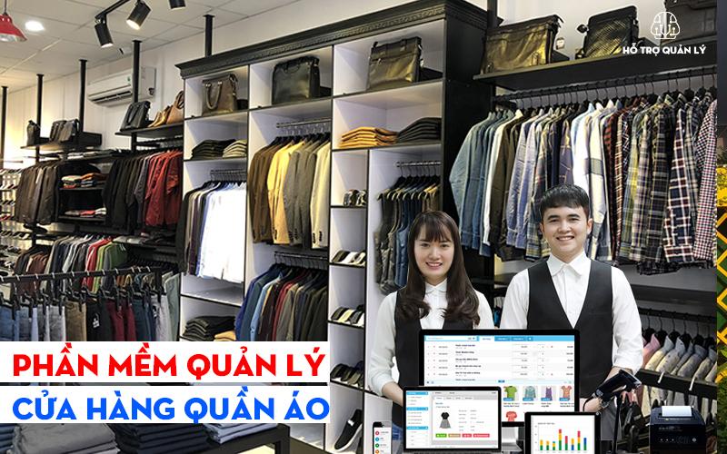 Phần mềm quản lý của hàng quần áo